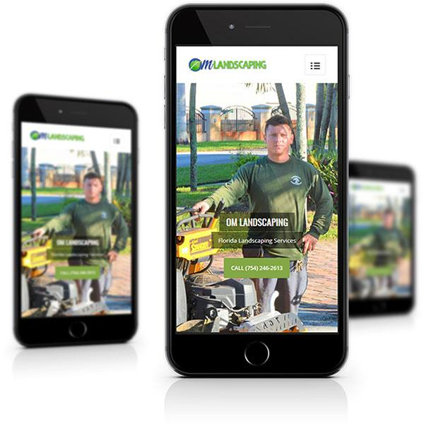 mobile web design responsive