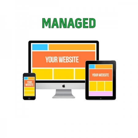 Website managed package