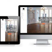 dr hardwoods web design