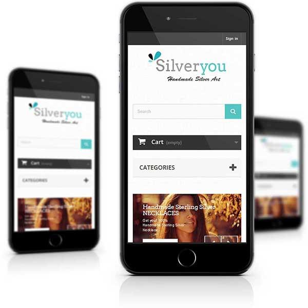 Mobile Ready Responsive Web design