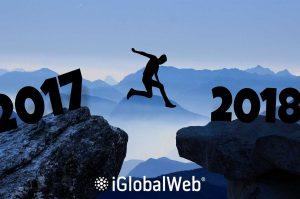 new year 2018 iglobalweb web design