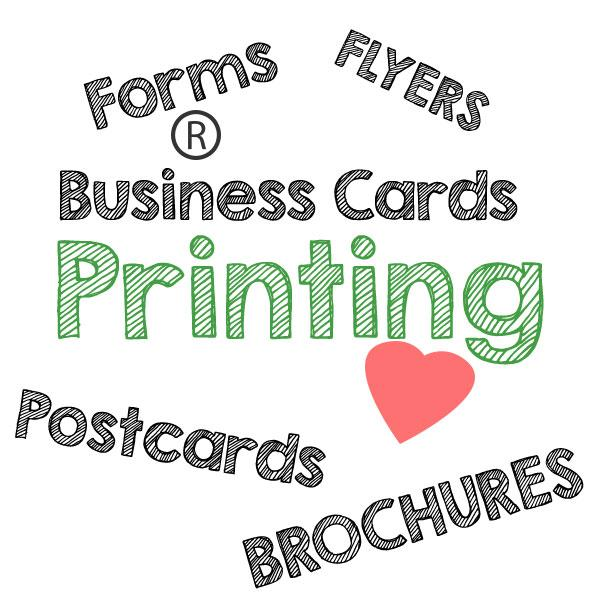 BROCHURES, BUSINESS CARDS, FLYERS & FORMS