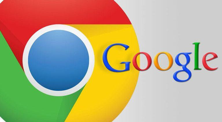 google chrome web design