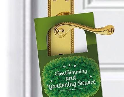 Door Hangers Do Not Disturb Signs Grand Opening Promos